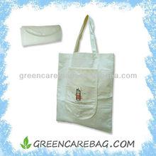 Biodegradable Natural Bamboo Fibre Foldable Bag