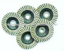 Resin bond diamond flap discs for polishing ship