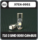 T10 3SMD 5050 CANBUS CAR LED
