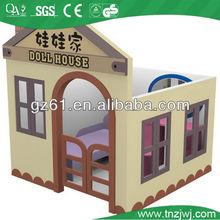 kids playhouse furniture, kindergarten wooden playhouse