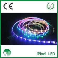 addressable ws2801 LED strips flex pixel LED RGB Ribbon full led pixel strip