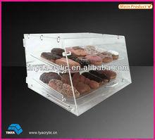 Eco-friendly Bakery Acrylic Cake Display Shelf