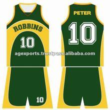sport team uniforms basketball wear