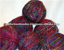 Banana Silk Yarns Available in Balls