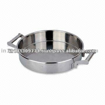 Round Stainless Steel Dog Bowl