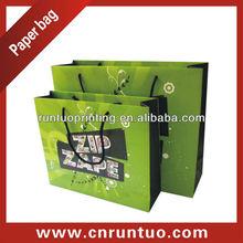Luxury Art Paper Bag For Shopping