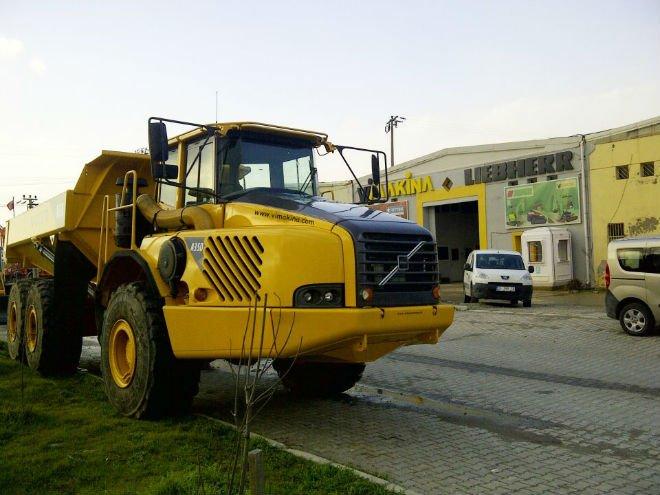 VOLVO A 35 D Articulated Dump Truck -11548