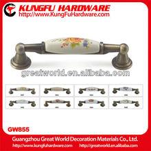 Ceramic handle fiberglass tool handle