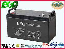 Rechargeble 12V 100AH 150AH 200AH Battery for ups or solar system