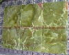 Dark Green Floor/ Wall Onyx Tiles,Dark Green Kitchen/Bathroom Onyx Tiles