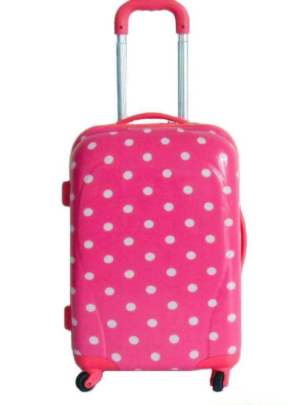 sky travel luggage bag suitcase 2013 Hot selling Korea fashion ABS+PC film printing trolley luggage bag