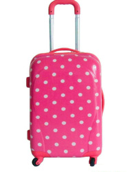 sky travel luggage bag suitcase 2013 Hot selling Korea fashion ABS+PC film printing trolley luggage bag