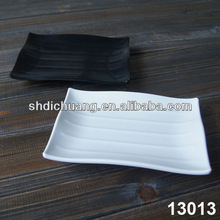Curved Melamine Tray Set
