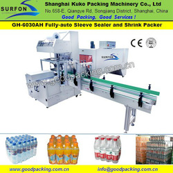 Fully Automatic Banana Chips Sleeve Sealer & Shrink Wrapper