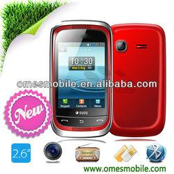 M3262 Bluetooth FM 2.6inch Java free games Dual sim best sound quality mobile phone