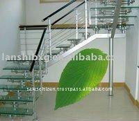 Durable stainless steel railings