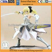 Sex girl anime action figure;Plastic action figure;Custom made anime figure