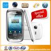 M3262 Bluetooth FM 2.6inch Java free games Dual sim card running light bar phone