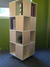 Revolving Bookshelf/Round bookcase in modern office furniture