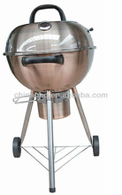 Stainless steel 18 inch weber charcoal grill