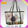 new style ladies wholesale pu tote bag(NV-B317)