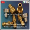 Oem mecánica de latón piezas de torneado cnc, piezas de latón sanitarias, aqua piezas de latón en dongguan, iso9001:2008 pasado