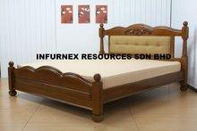 home furniture, bed, wooden bed, bedroom furniture