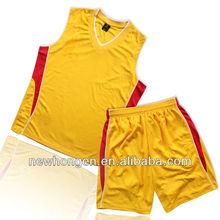 OEM sublimation sportswear fashion basketball uniform design