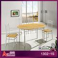 tailândia e exportador de mármore redonda mesa com cadeiras
