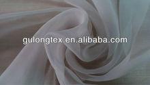 Imitado tela de seda de fábrica 100% 30d poli tela de gasa/30d chispa de gasa tela morir