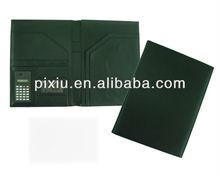 A4 leather document portfolio folder case