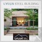 Luxury wood cladding modular lodge,china prefabricated homes,china prefab houses