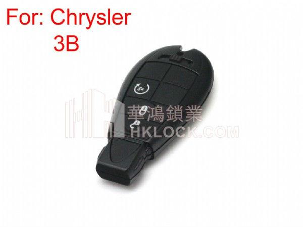 Chaves do carro inteligente para chrysler 300c chave shell 3 botão