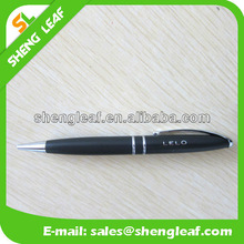 Black handle with two ring advertising pen