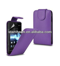 Flip Leather Case for Sony Xperia SP M35H