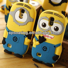 For Samsung Galaxy S4 i9500 Smart Minions silicone case cover