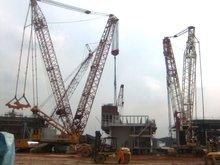 1000ton Demag Crawler Mobile Cranes