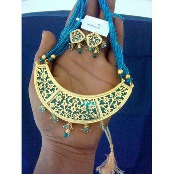 Rajasthani Traditional Artificial Thewa Jewelry