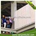 bajo costo de poliestireno de material de construcción de la pared