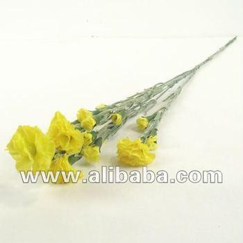 Artificial Silk Carnation Spray