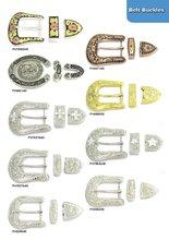 Crystal Belt buckles