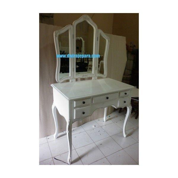 Francese mobili bianchi - di mobili specchiera camera da letto mobili