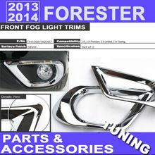 2013 2014 Forester Front Fog Light Trim Cover For Subaru Forester Sub-models 2.5i 2.5i Premiun 2.5i Limited 2.5i Touring Tuning