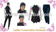 Ladies Conservative Swimwear Modest