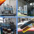 Fangos de hidrocarburos usadas purificación de aceite del motor