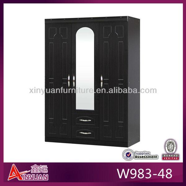 Cheap Cupboards Bedrooms W983-48 Cheap Wooden Cupboard
