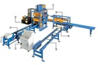 Automatic Concrete block and cement making machine (standing mould)