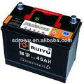 Livre de manutenção do caminhão/auto/bateria de carro, smf bateria do veículo, mf automóvel de bateria 12v 45ah ns60l