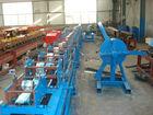 aluminium/steel roller shutter machine with PU foam/PU roller shutter roll forming machine.Furring channel