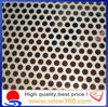 circle perforated metal mesh screen/cheap perforated sheet ISO9001 factory